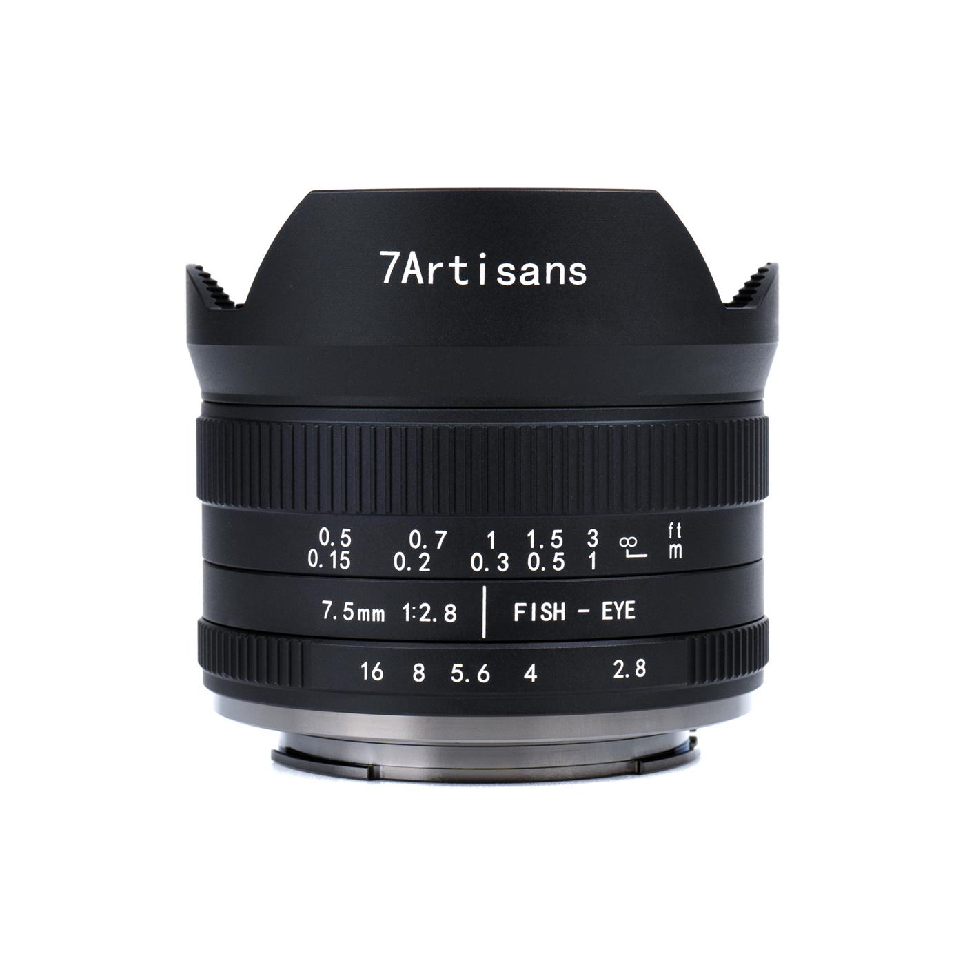 7Artisans 7,5 mm 1:2,8 II Fisheye für Canon EF-M