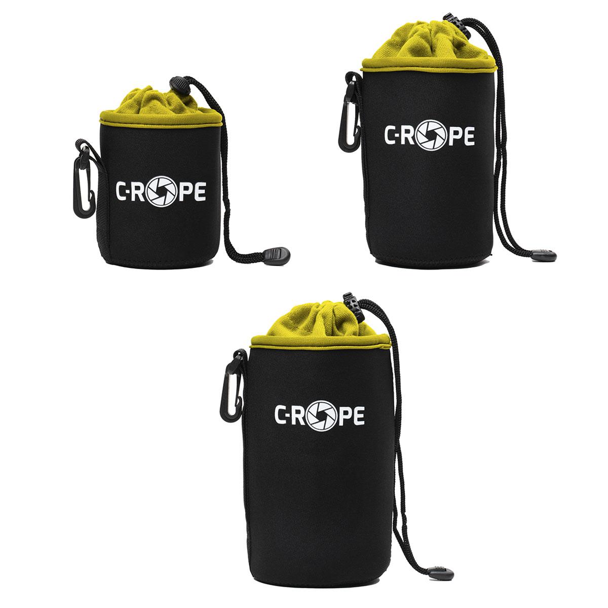 C-Rope Lenspouch schwarz Set S/M/L