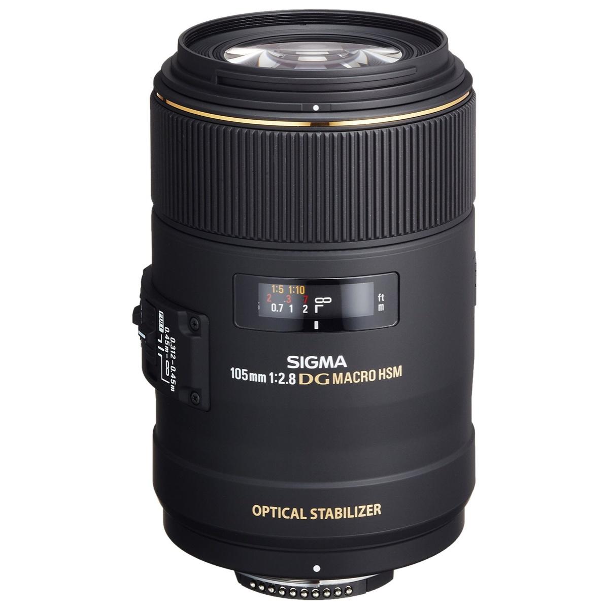 Sigma 105 mm 1:2,8 EX Makro DG OS HSM FX