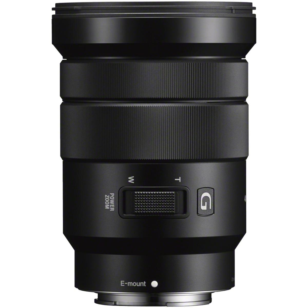Sony 18-105 mm 1:4,0 PZ G OSS E-Mount
