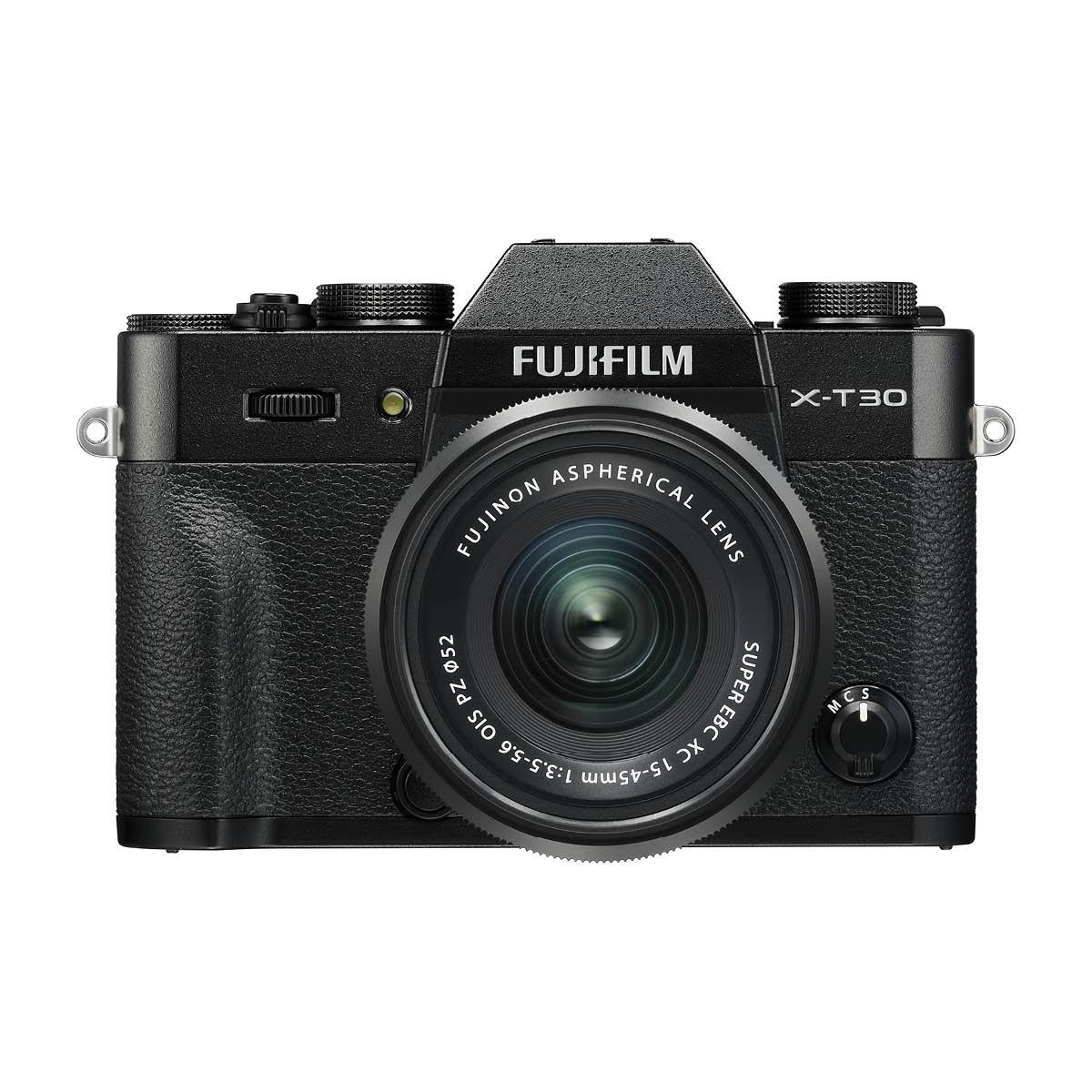 Fujifilm X-T30 Kit mit 15-45 mm 1:3,5-5,6 Schwarz