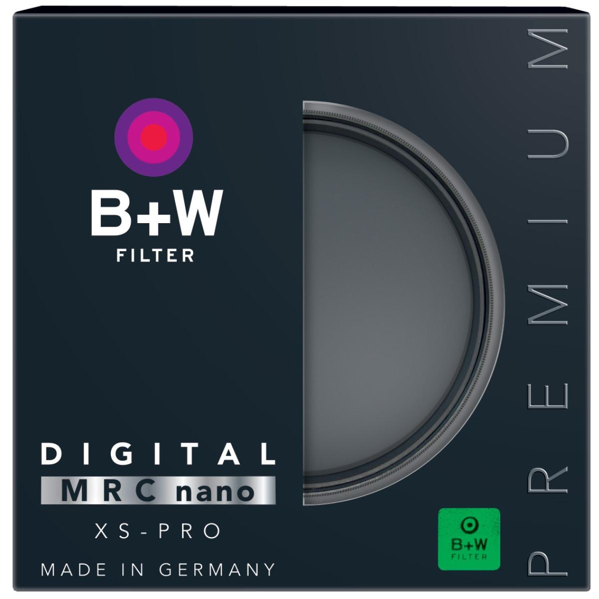 B+W Clear Filter 62 mm XS-Pro