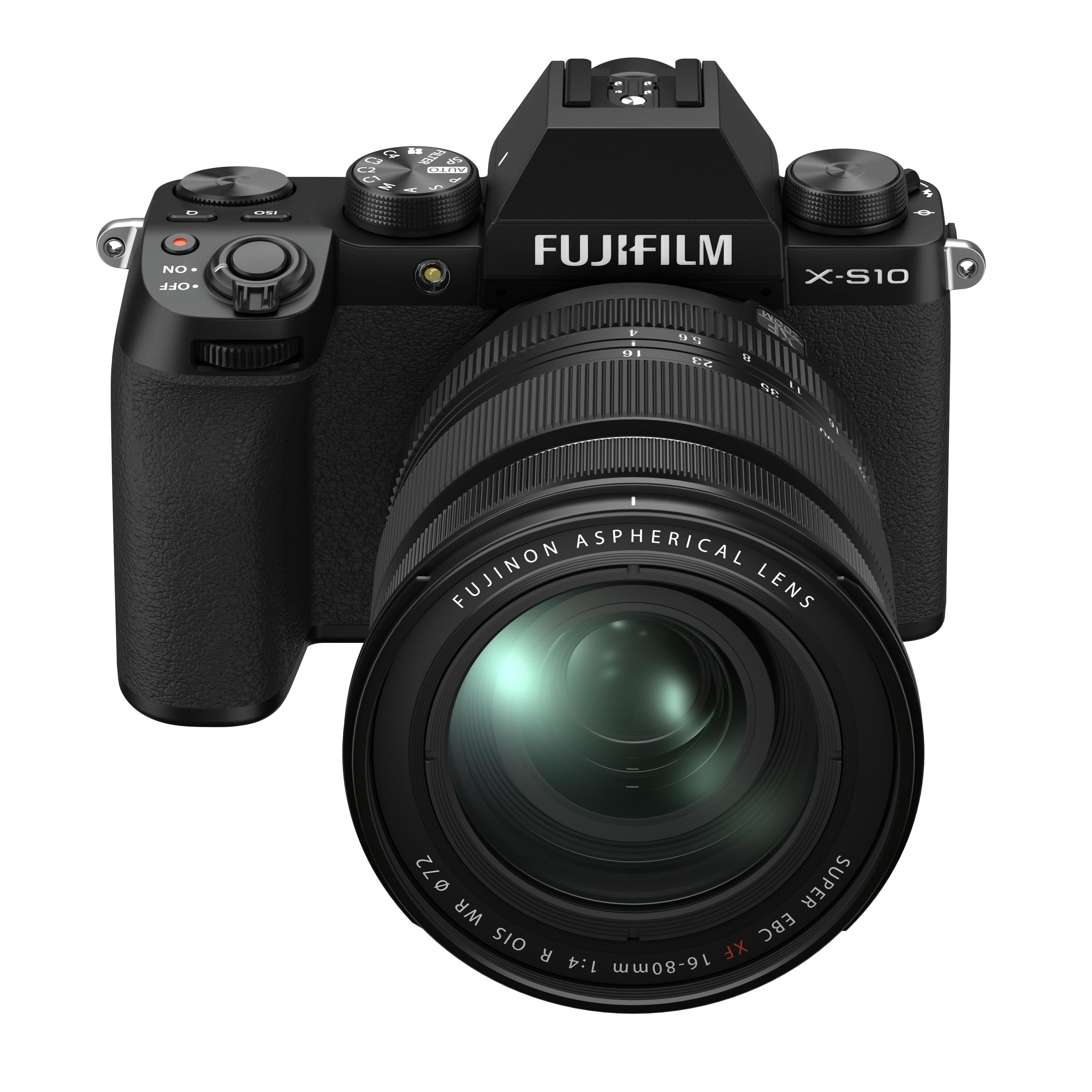 Fujifilm X-S10 Kit mit 16-80 mm 1:4,0