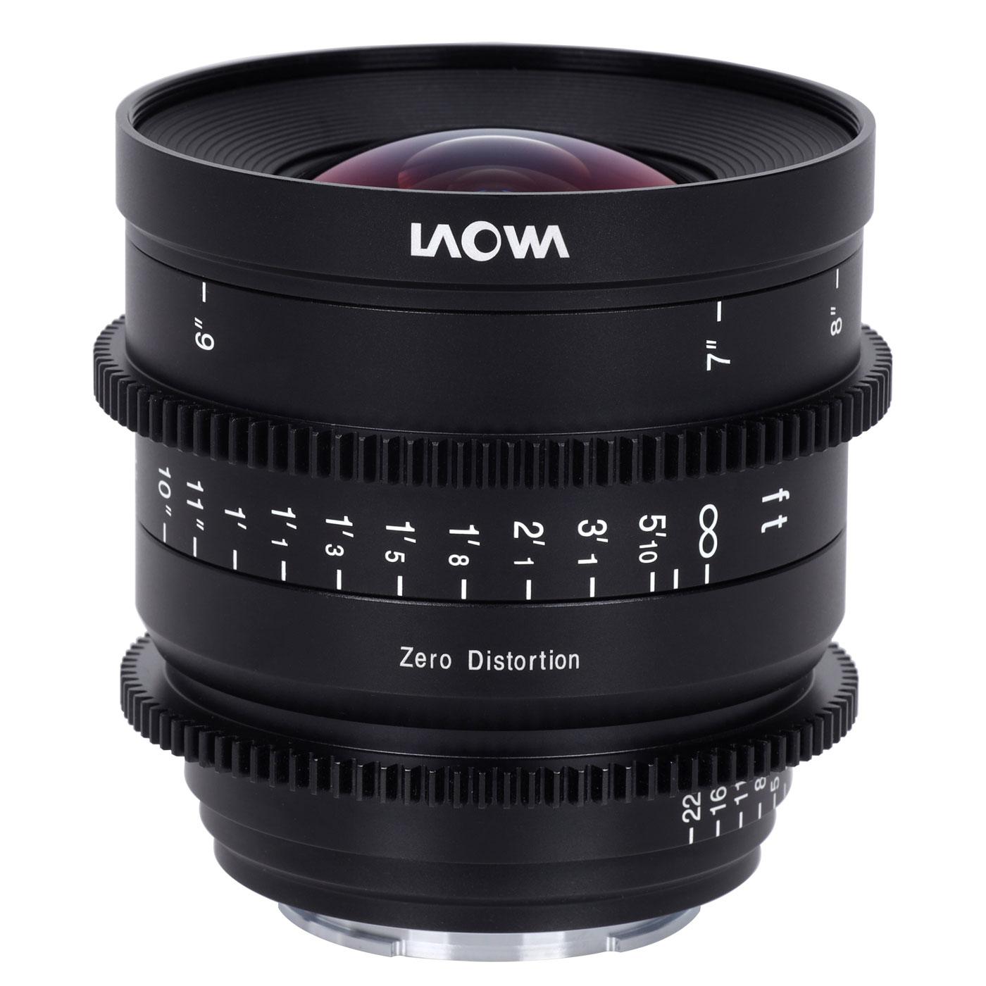 Laowa 12 mm 1:2,9 Zero-D Cine für L-Mount