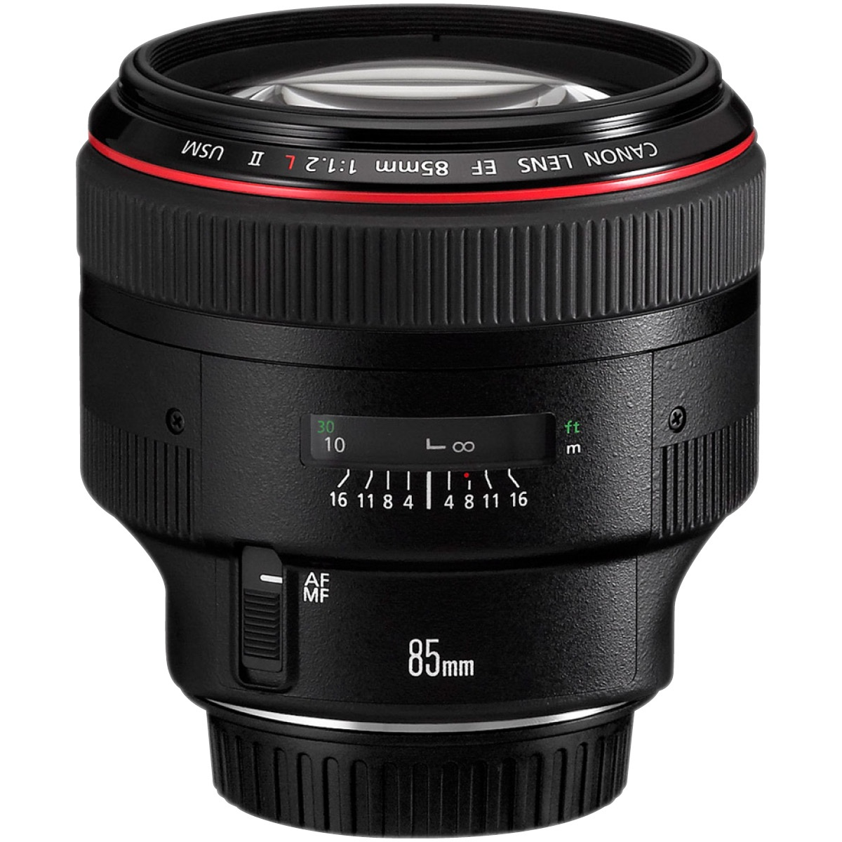 Canon EF 85 mm 1:1,2 L II USM