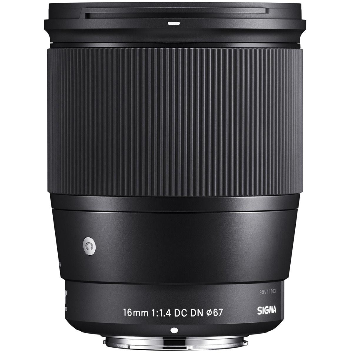 Sigma 16 mm 1:1.4 DC DN (C) E-Mount