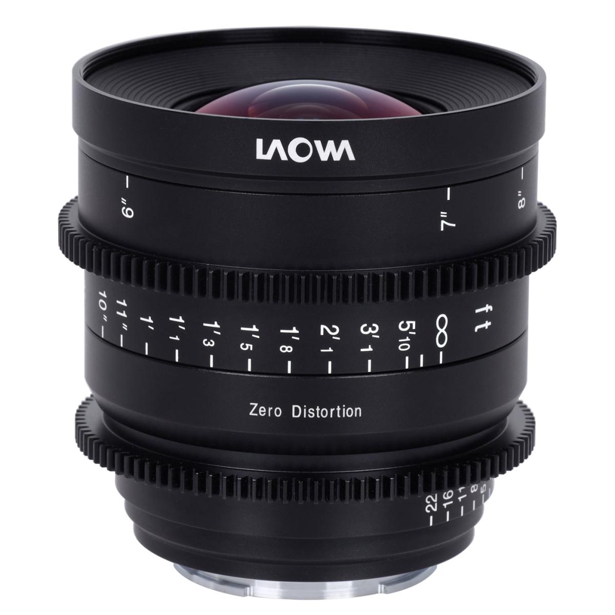 Laowa 15 mm 1:2,1 Zero-D Cine für Nikon Z