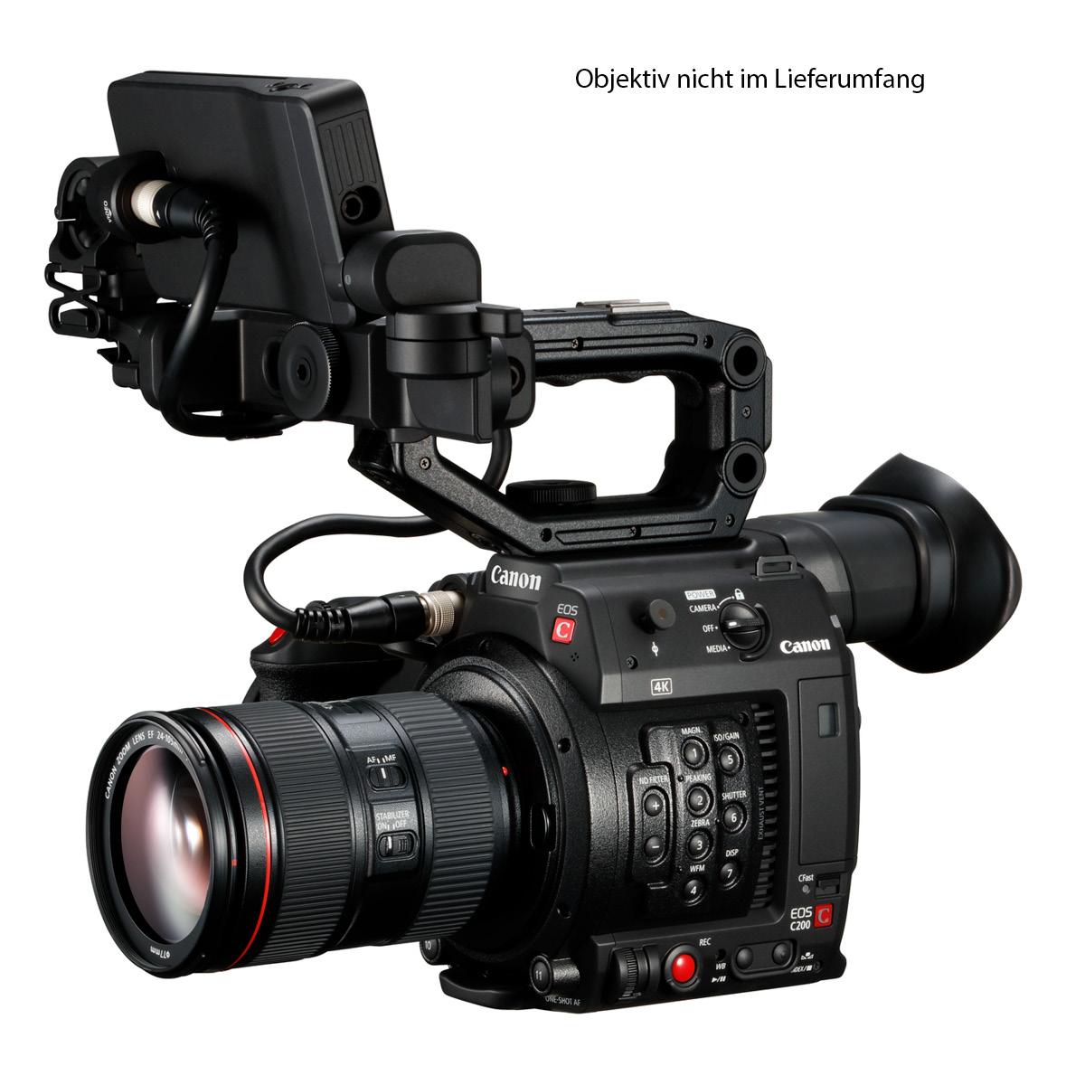 Canon C200 mit Ninja V Power Kit