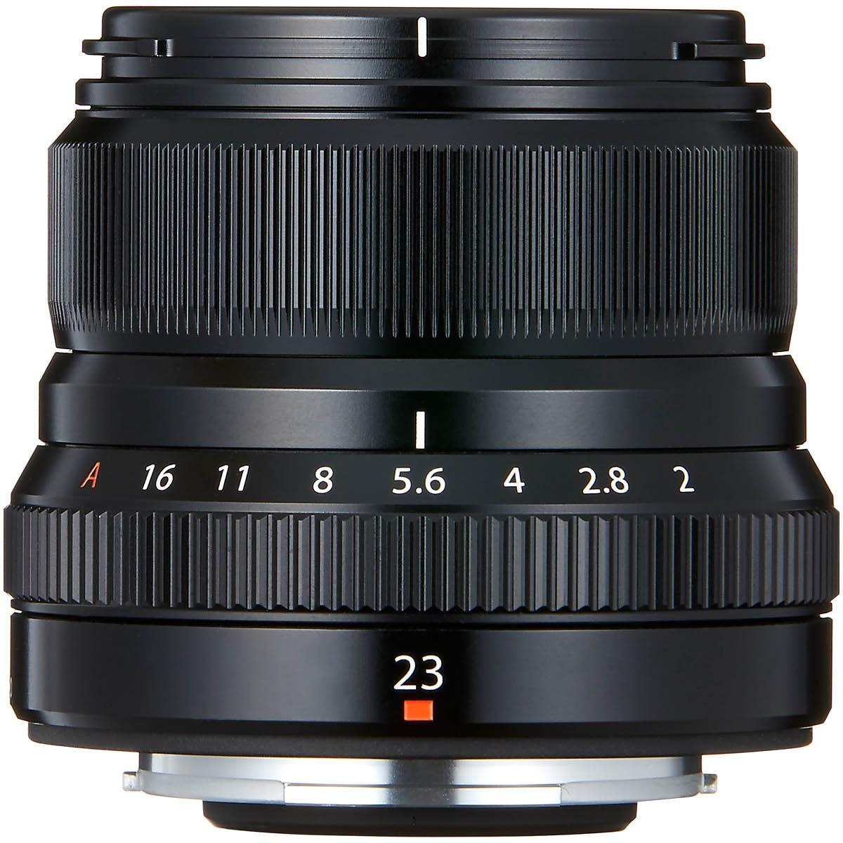 Fujifilm XF 23 mm 1:2,0 R WR Schwarz