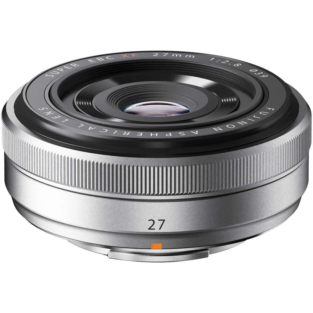 Fujifilm XF 27 mm 1:2,8 silber