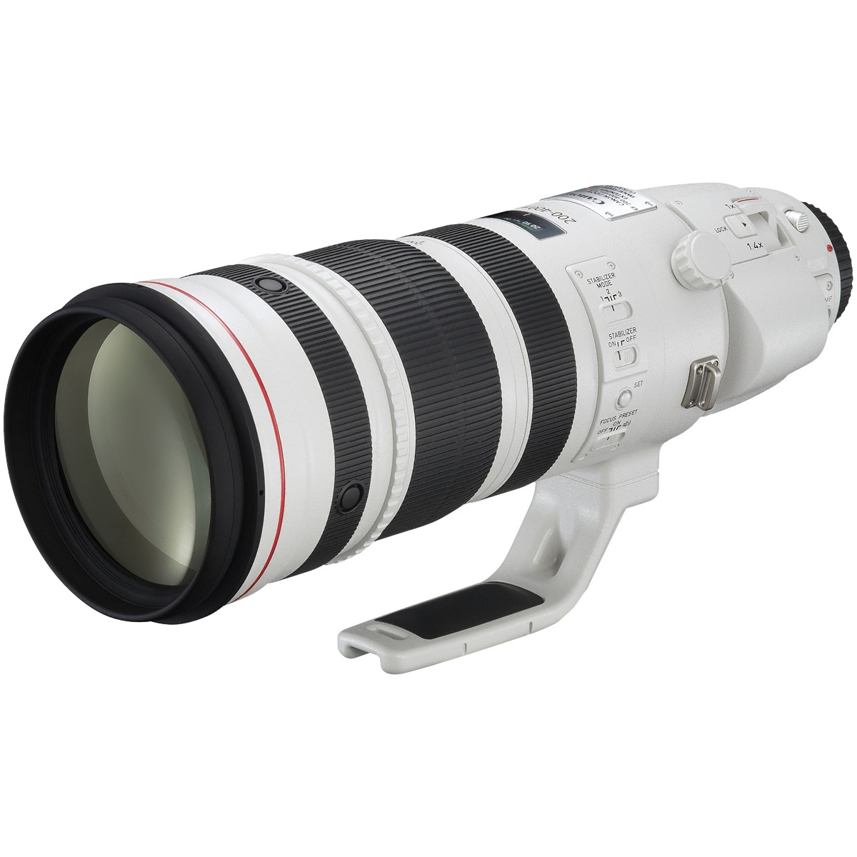 Canon EF 200-400 mm 1:4,0 L IS USM Set mit Extender 1,4x