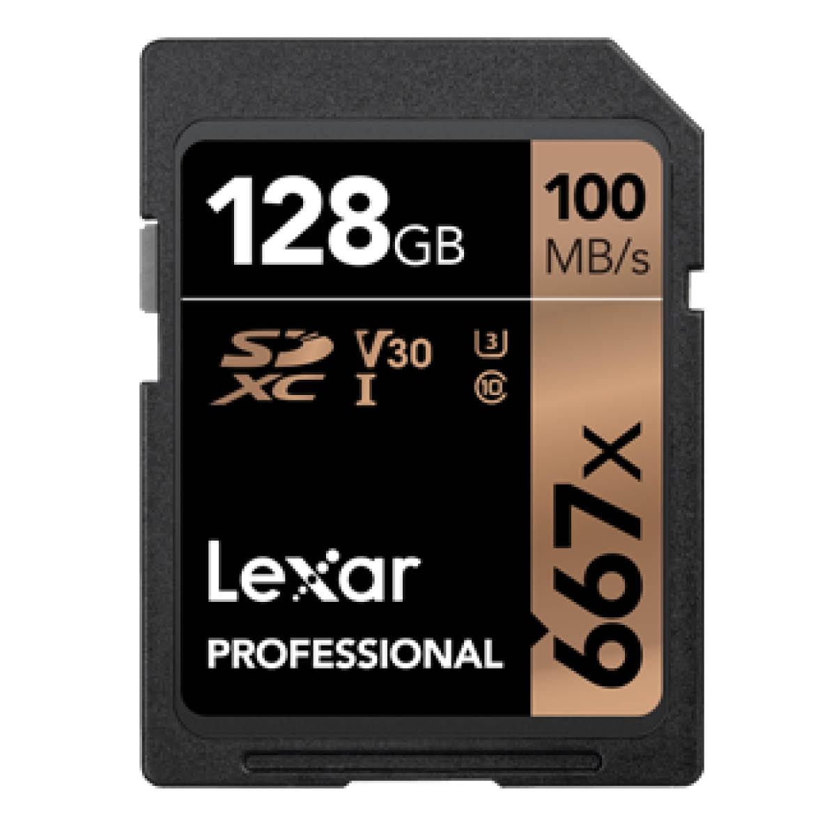 Lexar SDXC 128GB Professional UHS-I 667x