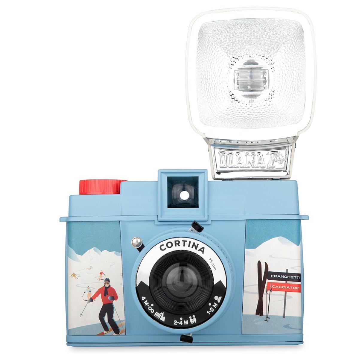 Lomo Diana F+ Camera Cortina