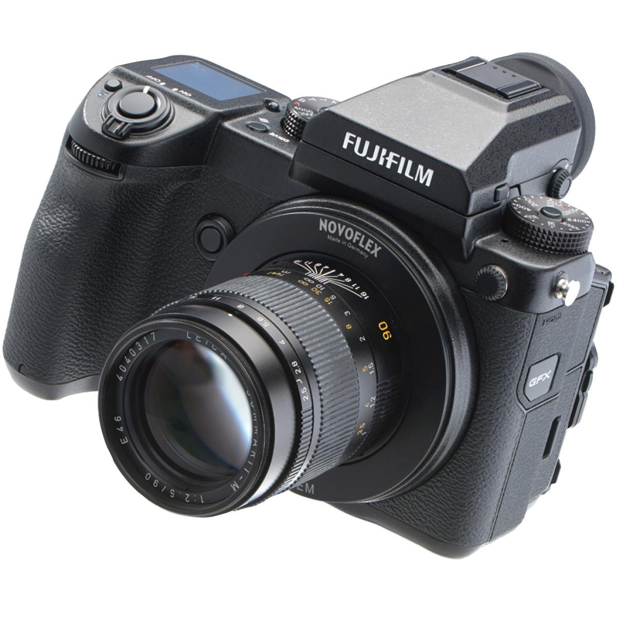 Novoflex Adapter Leica M-Objektive an Fuji GFX