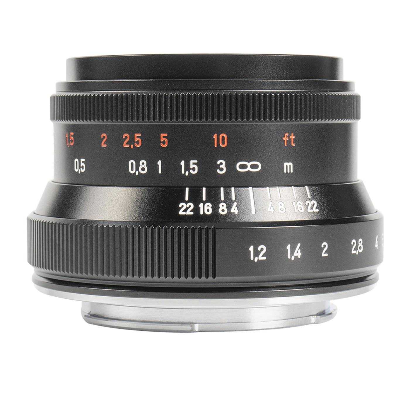 7Artisans 35 mm 1:1,2 II für Canon EF-M