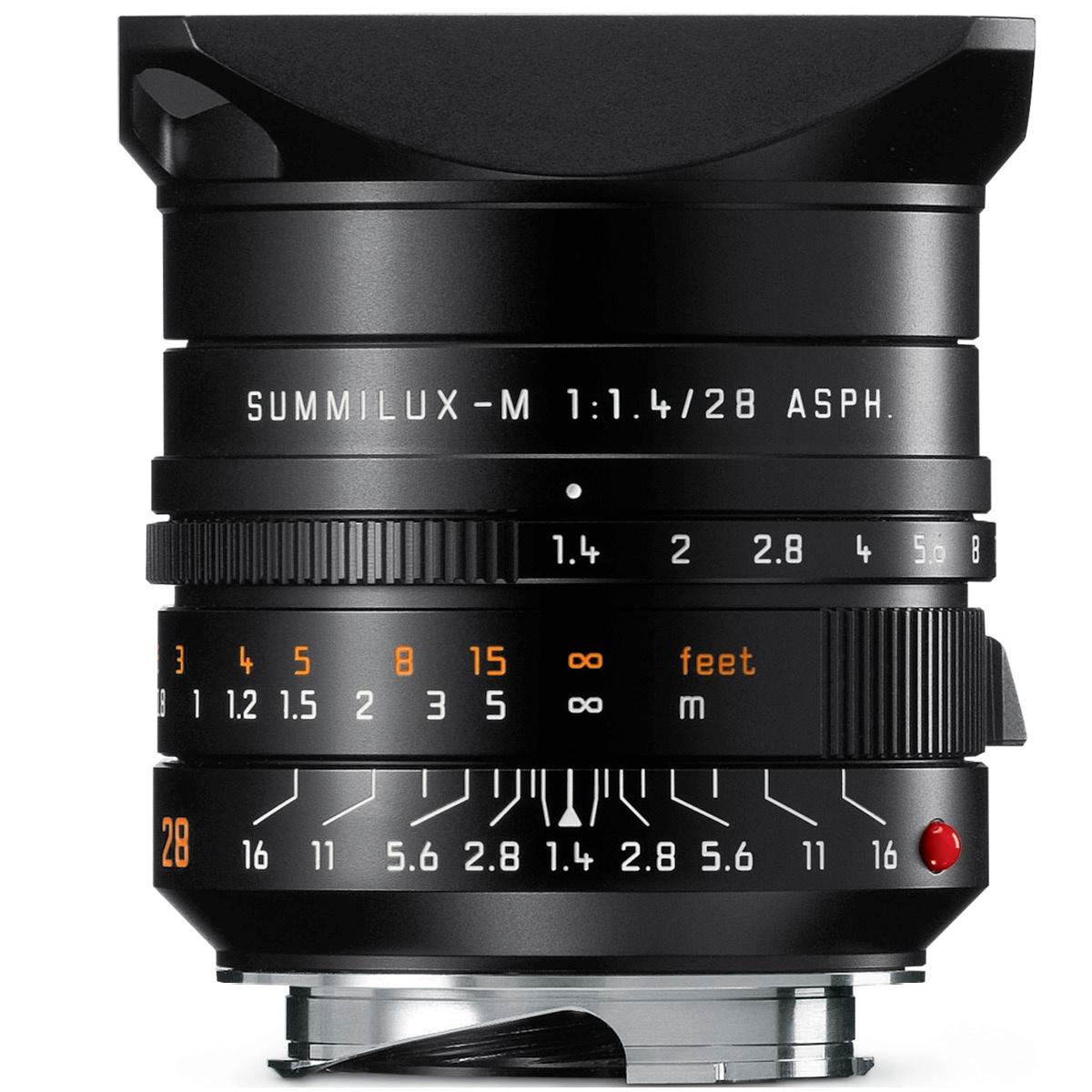 Leica 28 mm 1:1,4 Summilux-M ASPH Schwarz