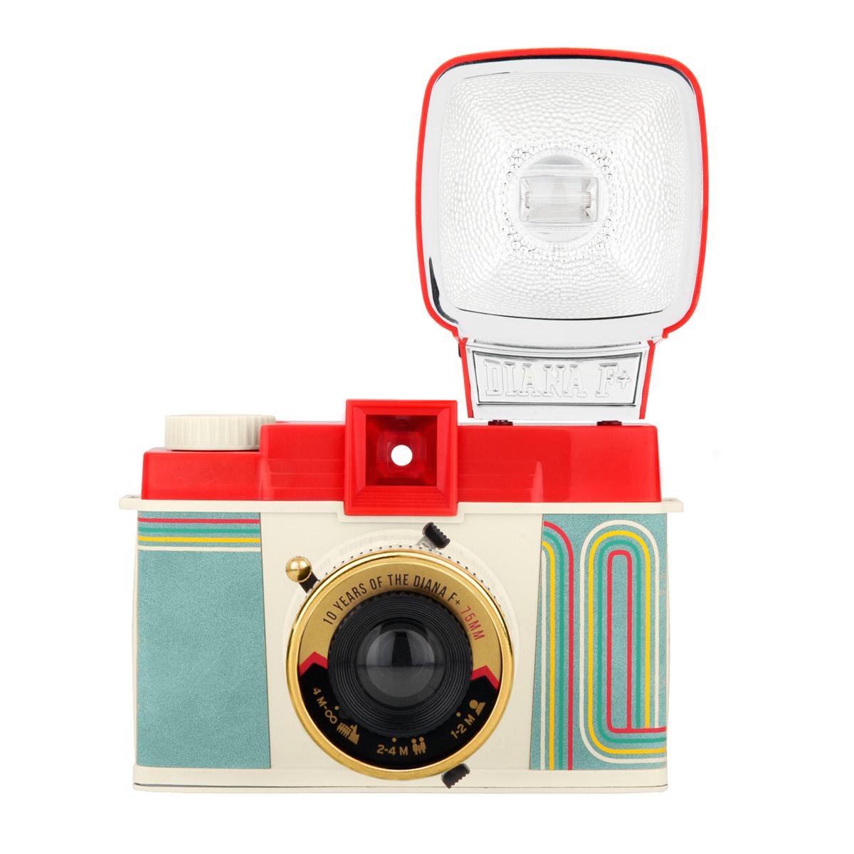 Lomo Diana F+ Camera 10 Years Edition