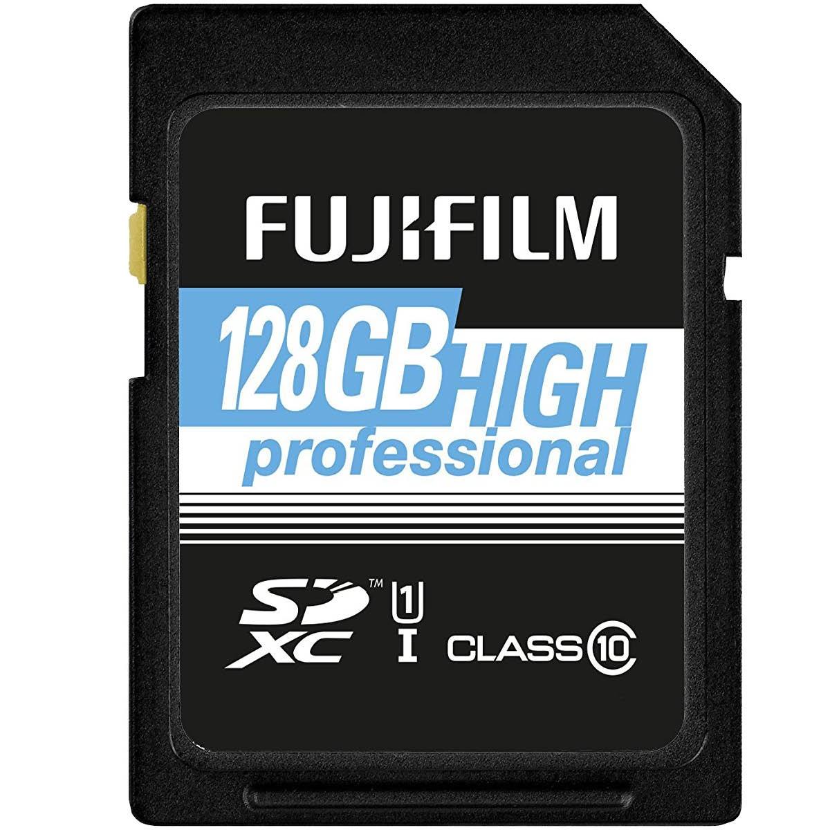 Fujifilm 128GB SDXC Professional 95MB/S