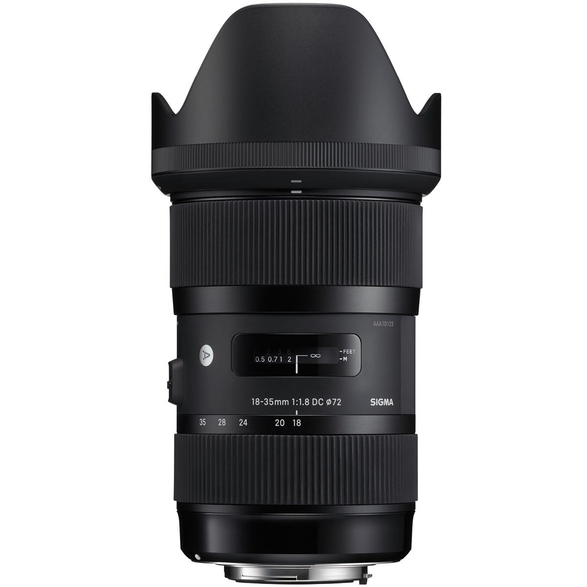 Sigma 18-35 mm 1:1,8 DC HSM Art DX