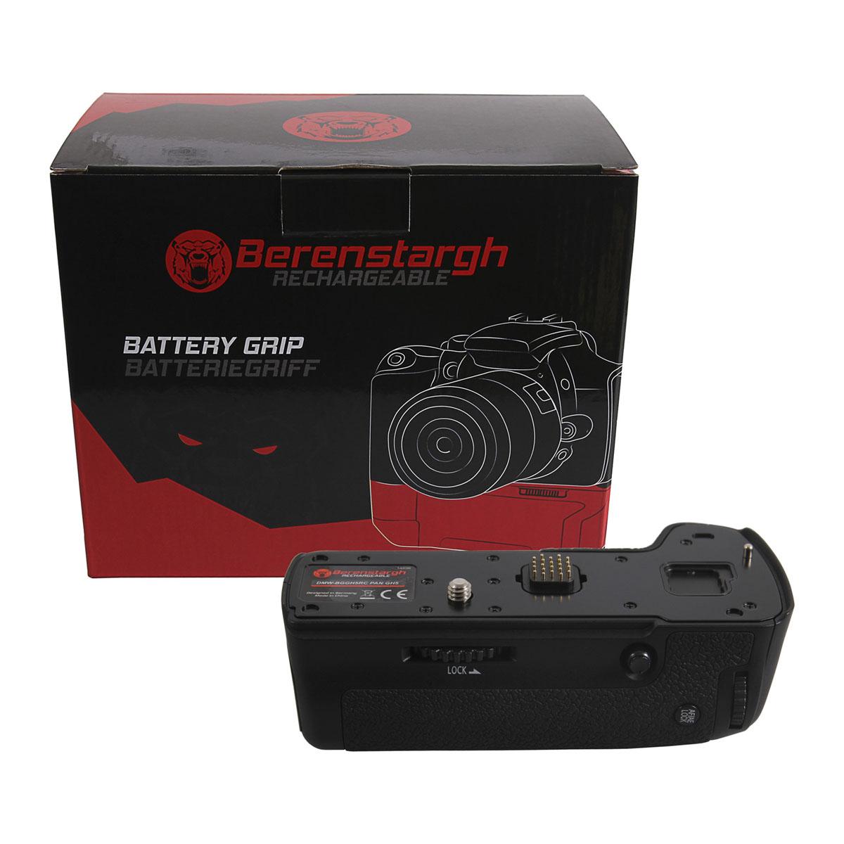 Berenstargh Batteriegriff für Panasonic GH5