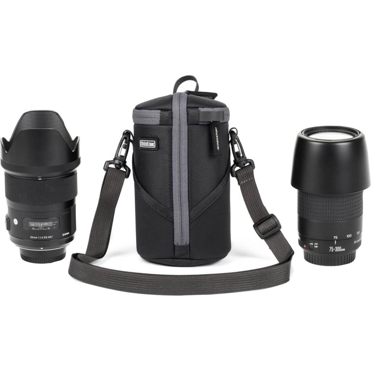 ThinkTank Lens Case Duo 15 Schwarz