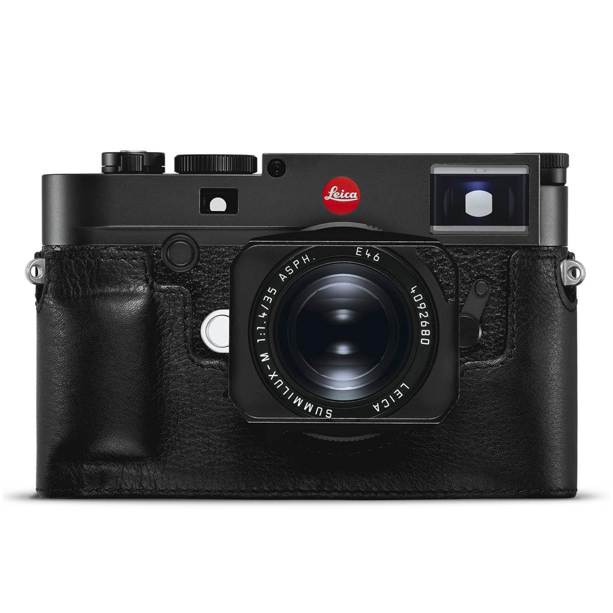 Leica Lederprotektor Schwarz für M10