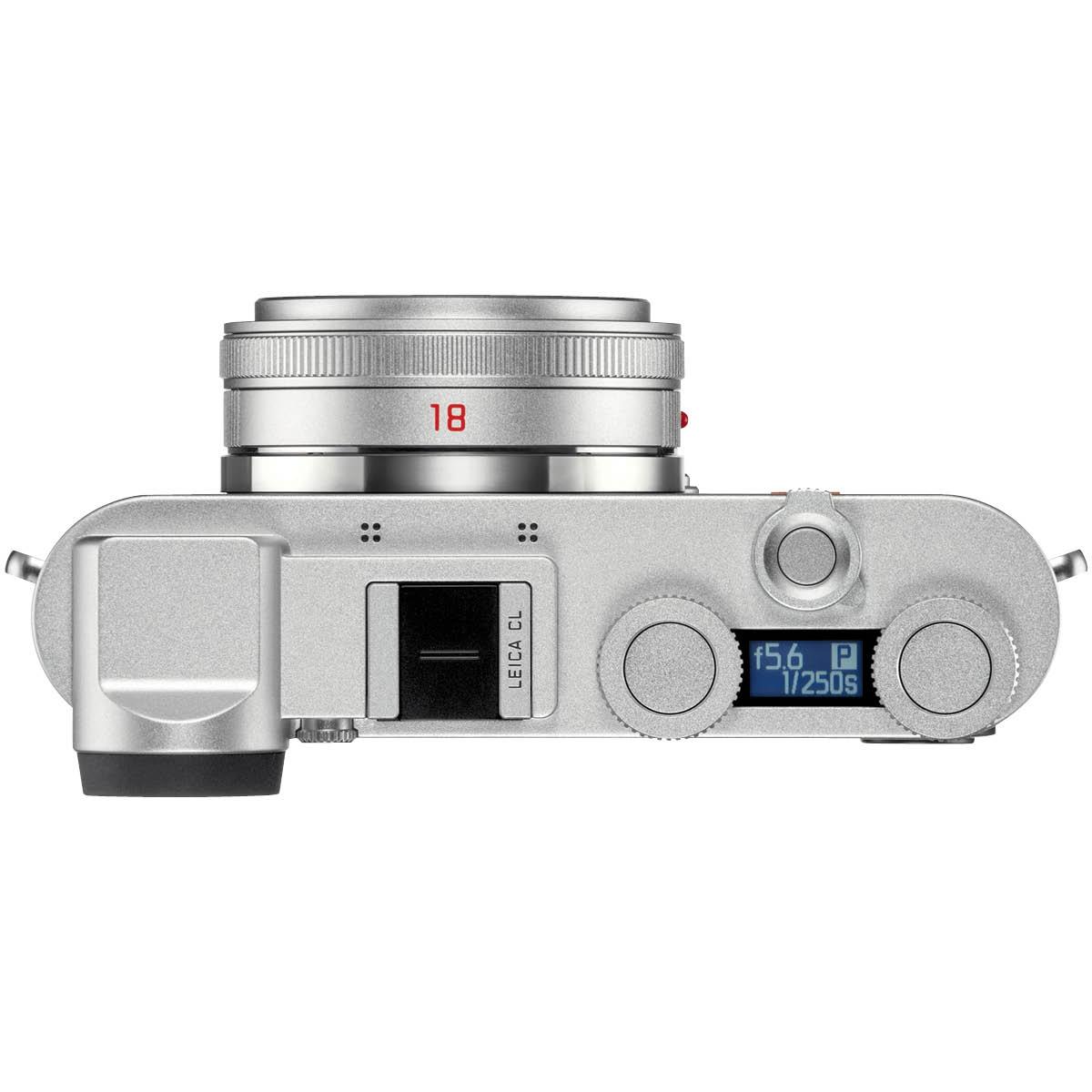 Leica CL Prime Kit mit 18 mm 1:2,8 Silber