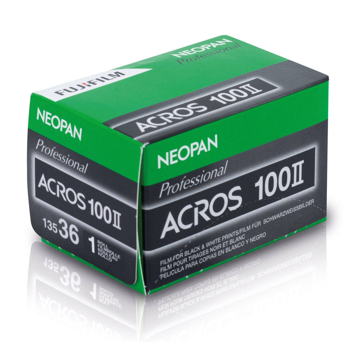 Fujifilm Neopan Acros II 100 36 Kleinbildfilm SW