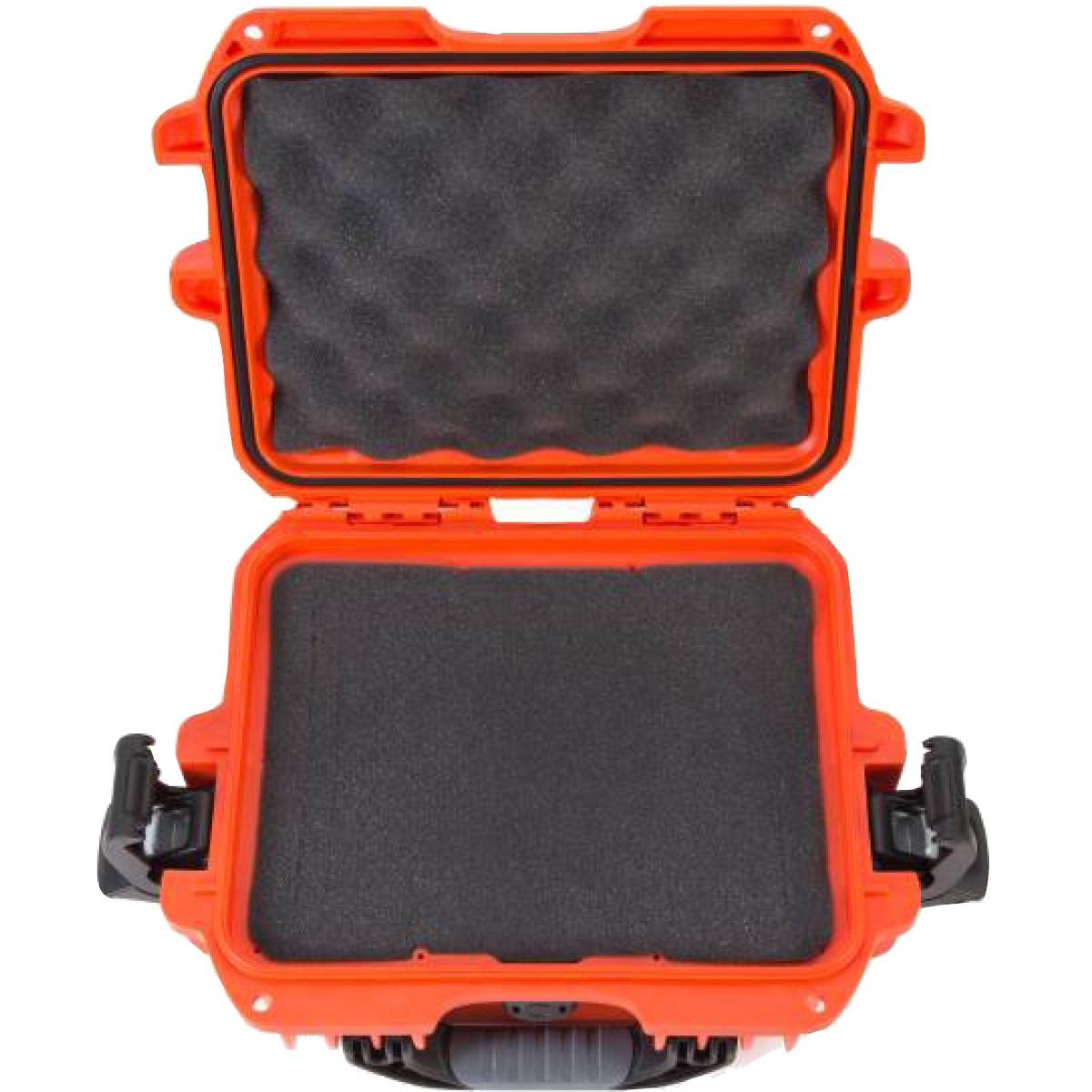 Nanuk Koffer 905 mit Schaumstoffeinlage Orange