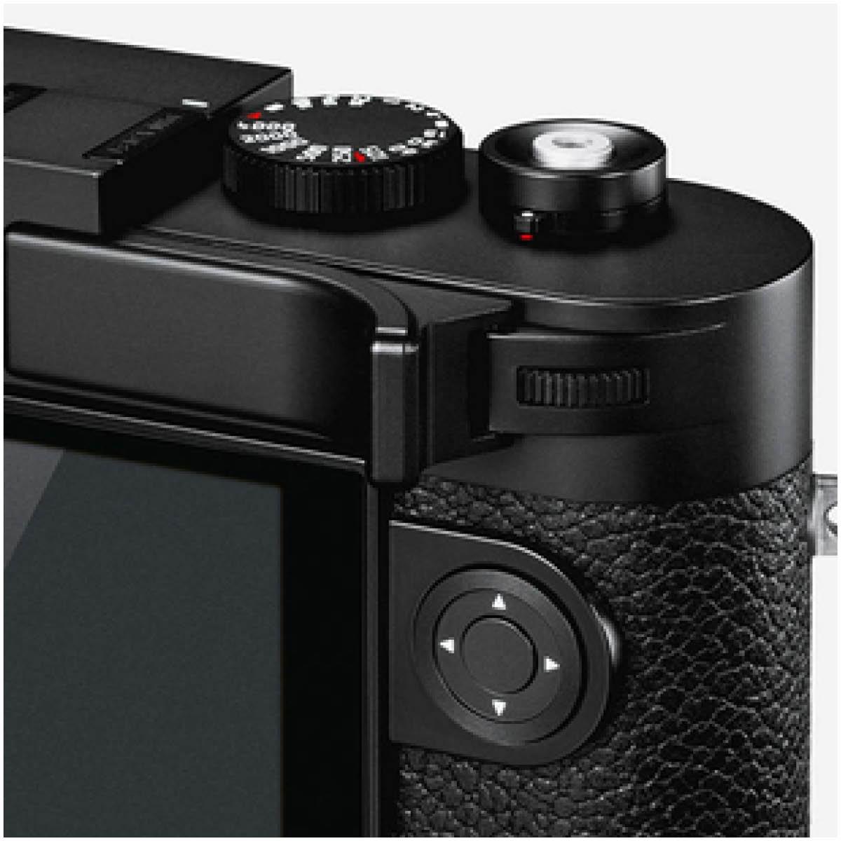 Leica Daumenstütze Schwarz für Leica M10