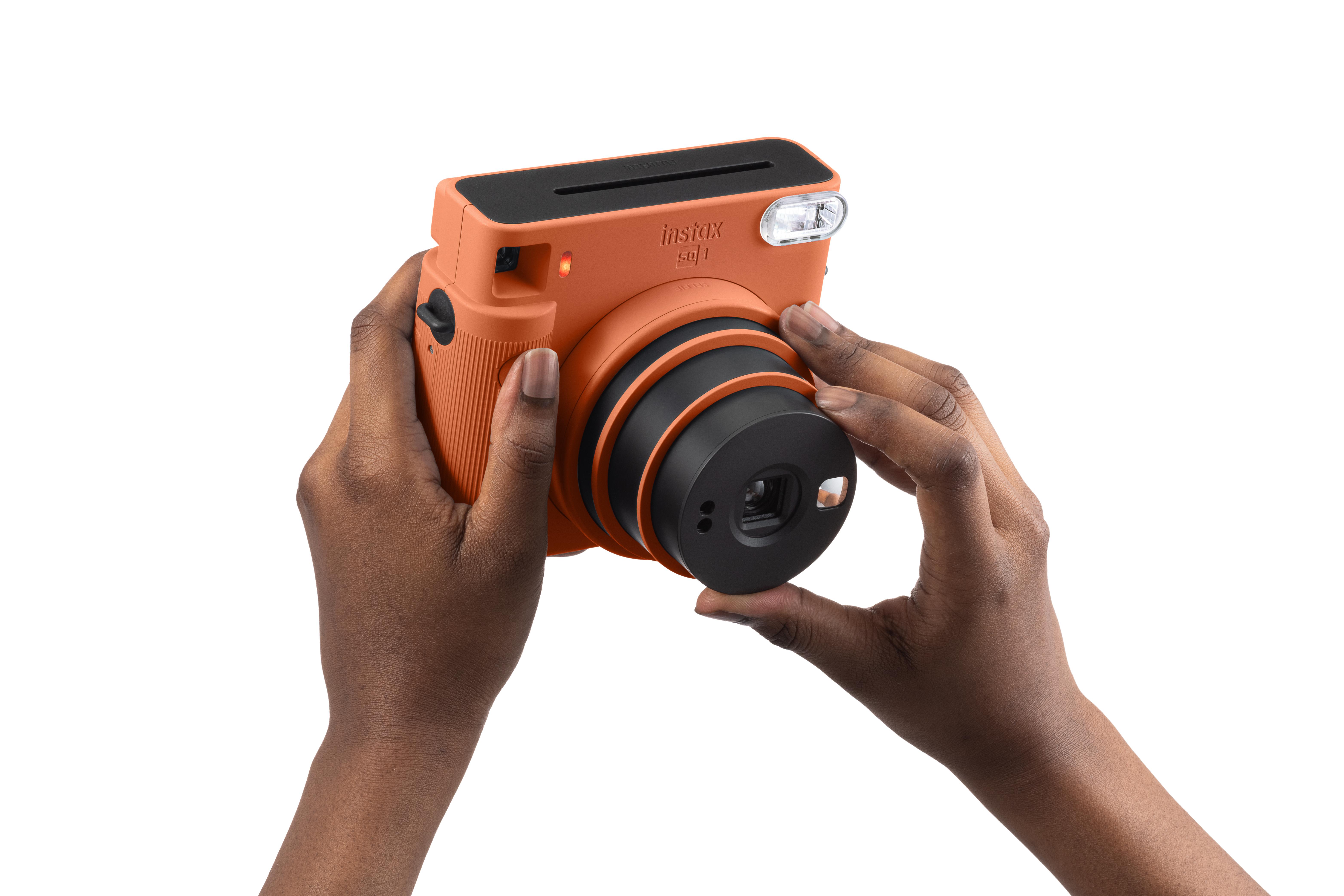 Fujifilm Instax Square SQ 1 Terracotta Orange