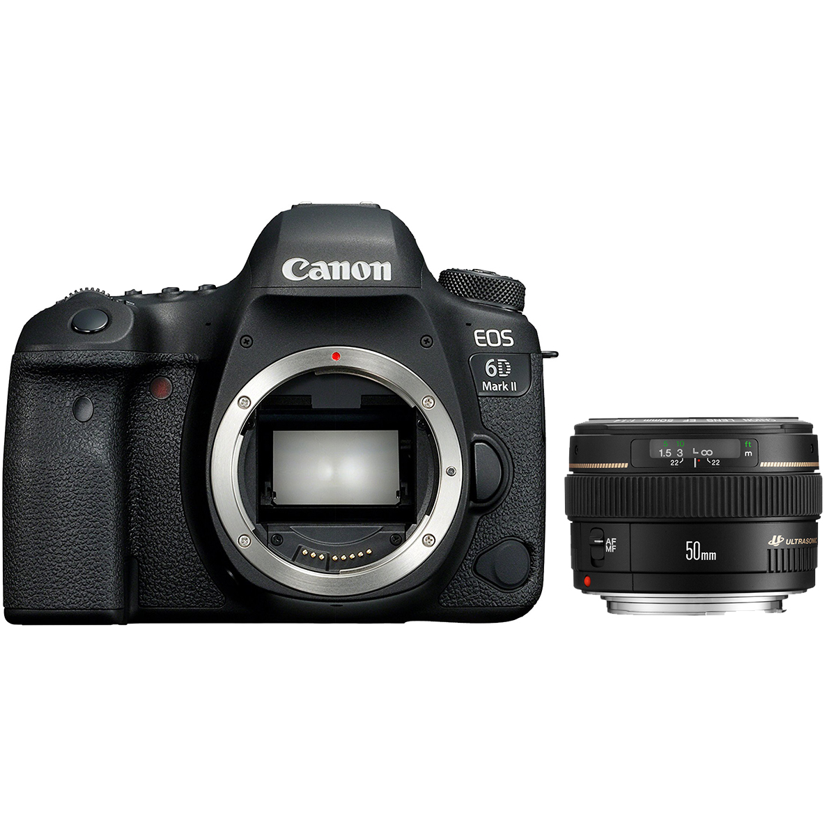 Canon EOS 6D Mark II mit 50 mm EF 1:1,4 USM