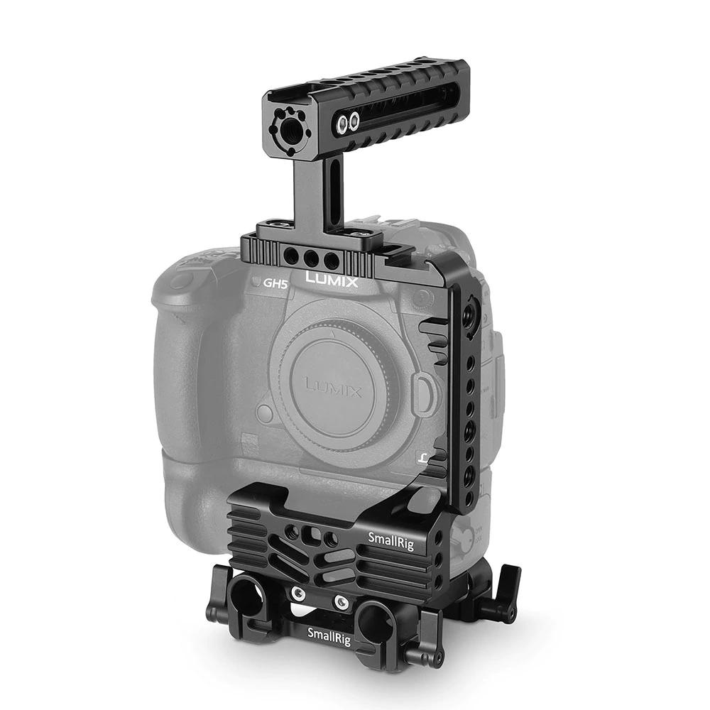 SmallRig Professional Half-Cage Kit für Panasonic Lumix GH5 mit Batteriegriff 2025