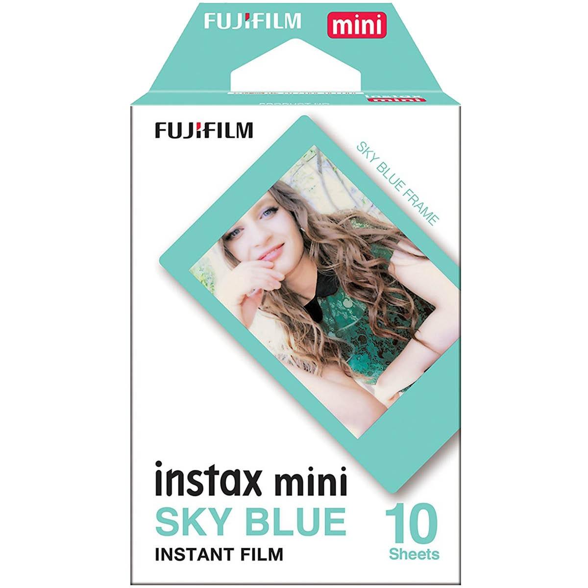 Fujifilm Instax Mini Sky Blue Film
