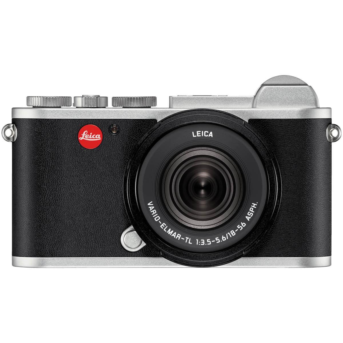 Leica CL Vario Kit mit 18-56 mm 1:3,5-5,6 Silber
