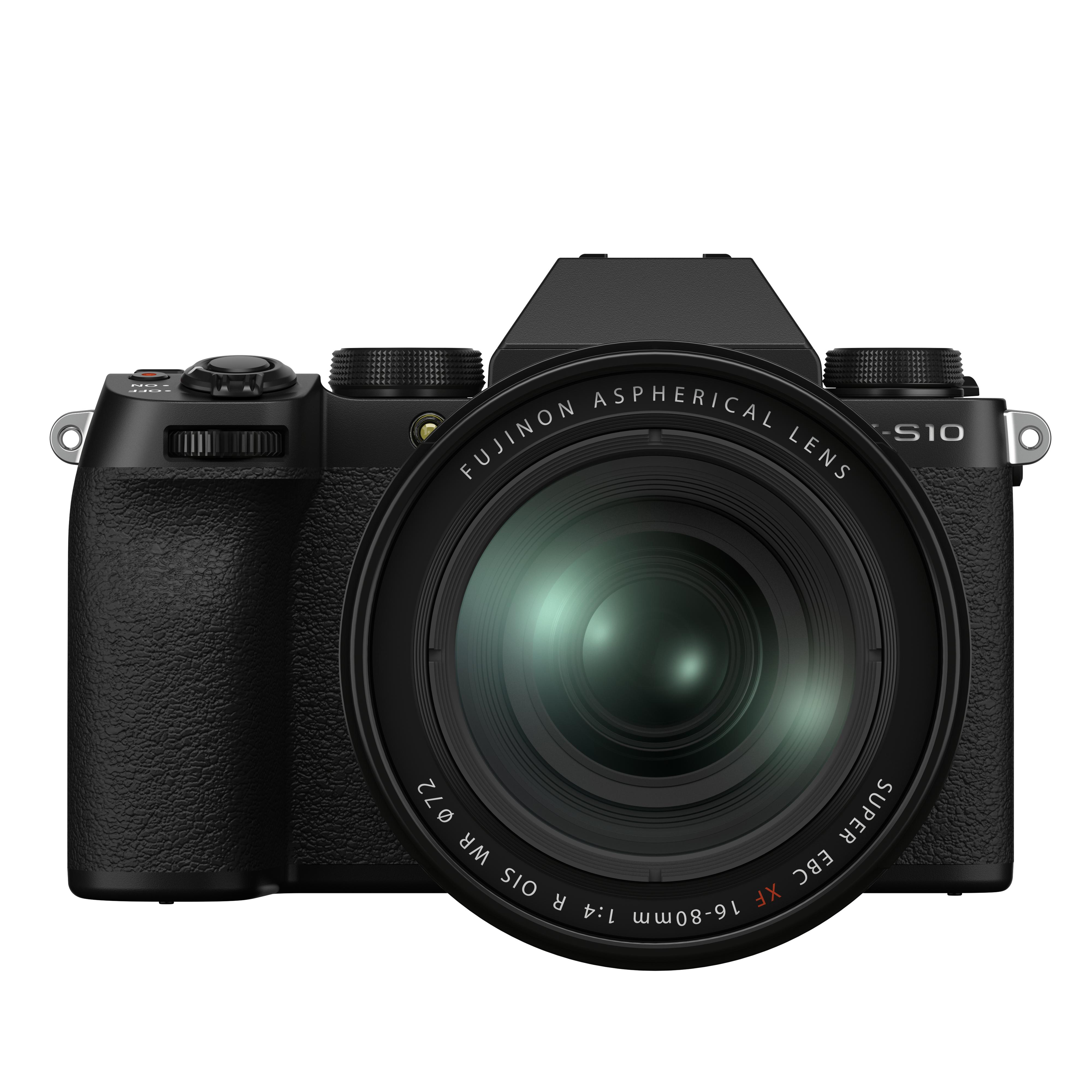 Fujifilm X-S 10 Kit mit 16-80 mm 1:4,0