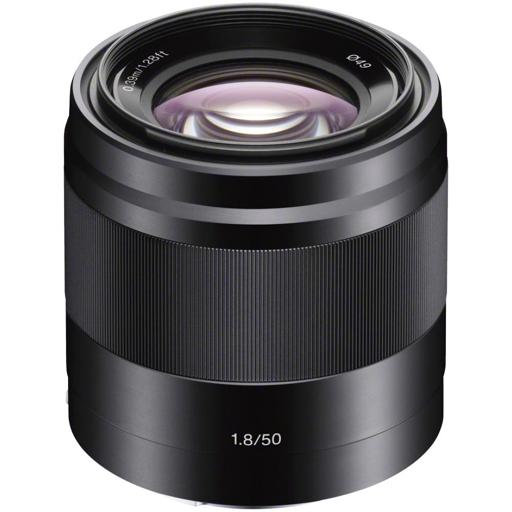 Sony 50 mm 1:1,8 OSS E-Mount Schwarz